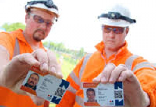 Identification Cards for Construction Sites